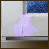 Sealing exterior wood with pink primer